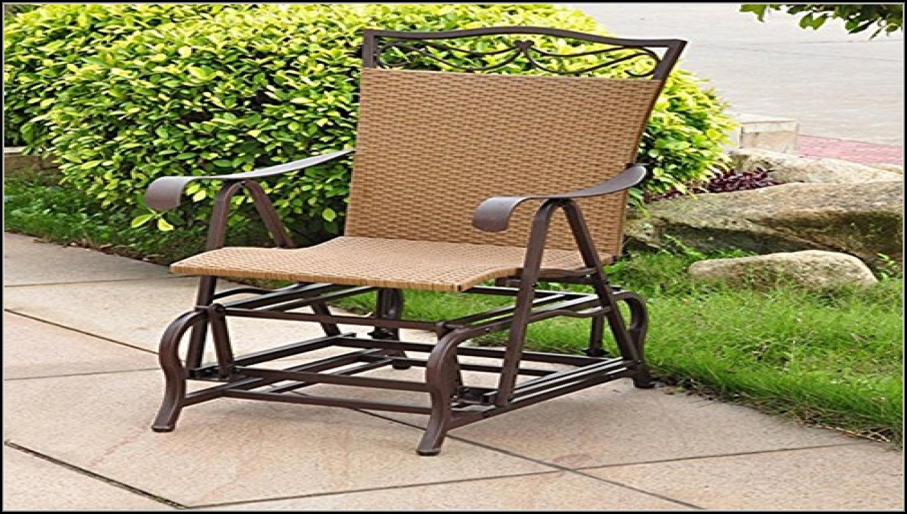 Glider Outdoor Furniture Wicker