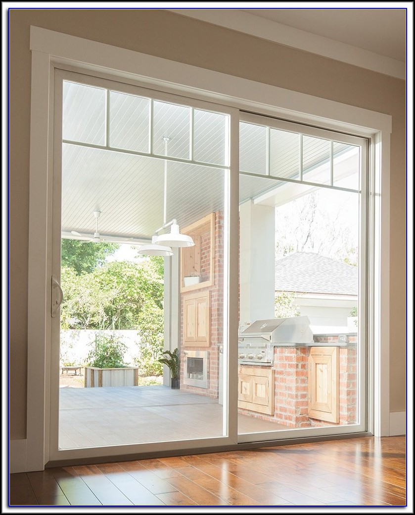 Gliding Patio Doors With Sidelights