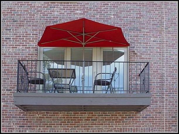 Half Canopy Patio Umbrella