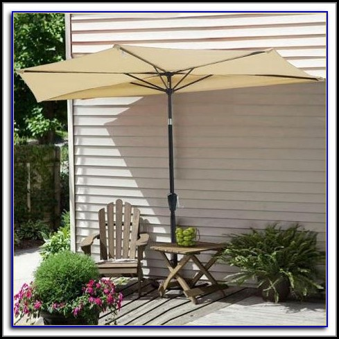 Half Patio Umbrella Uk