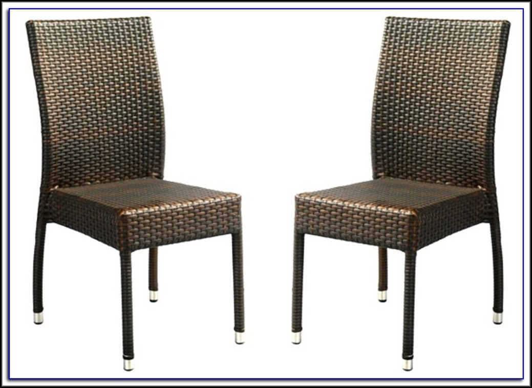 Hampton Bay Wicker Patio Chairs