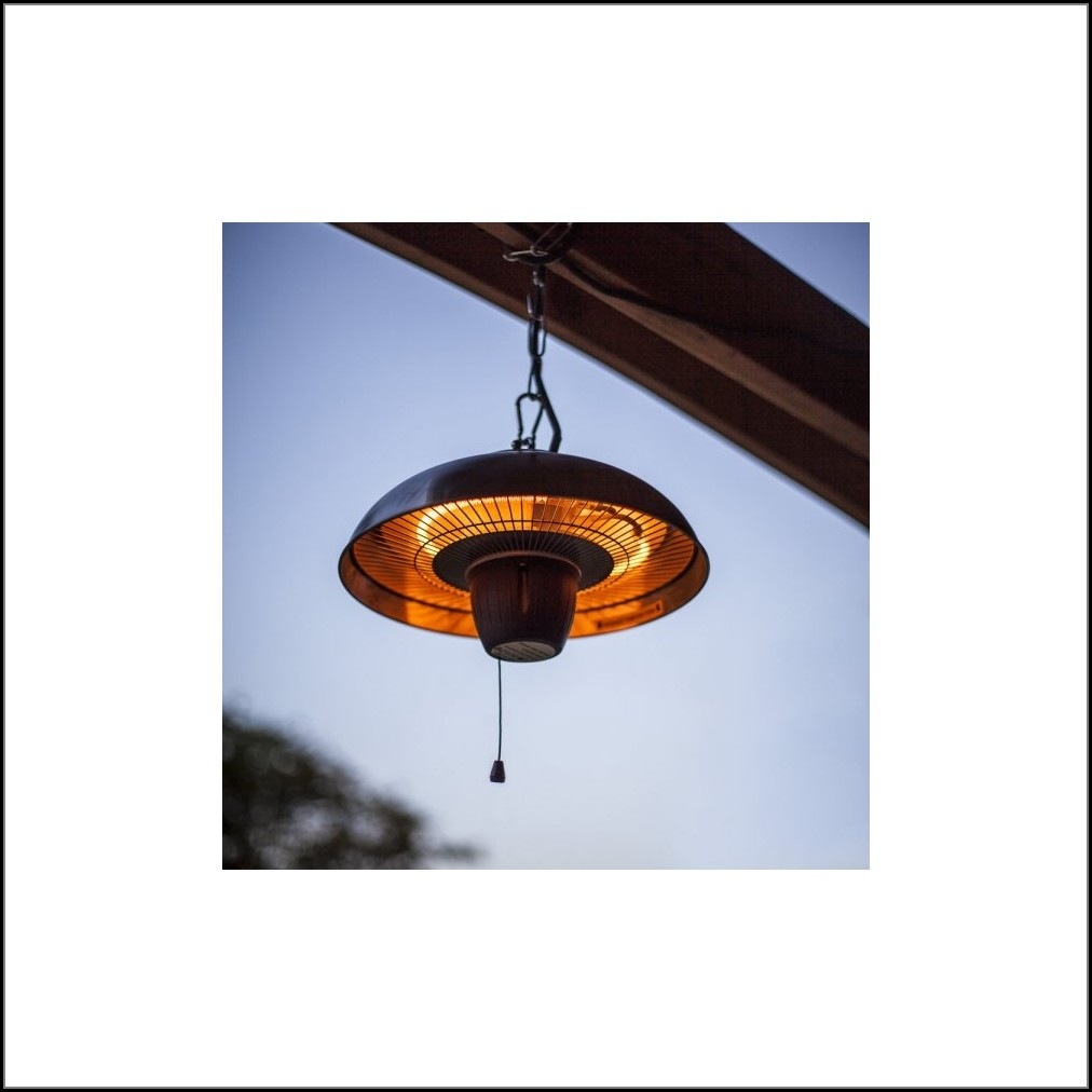 Hanging Halogen Patio Heater
