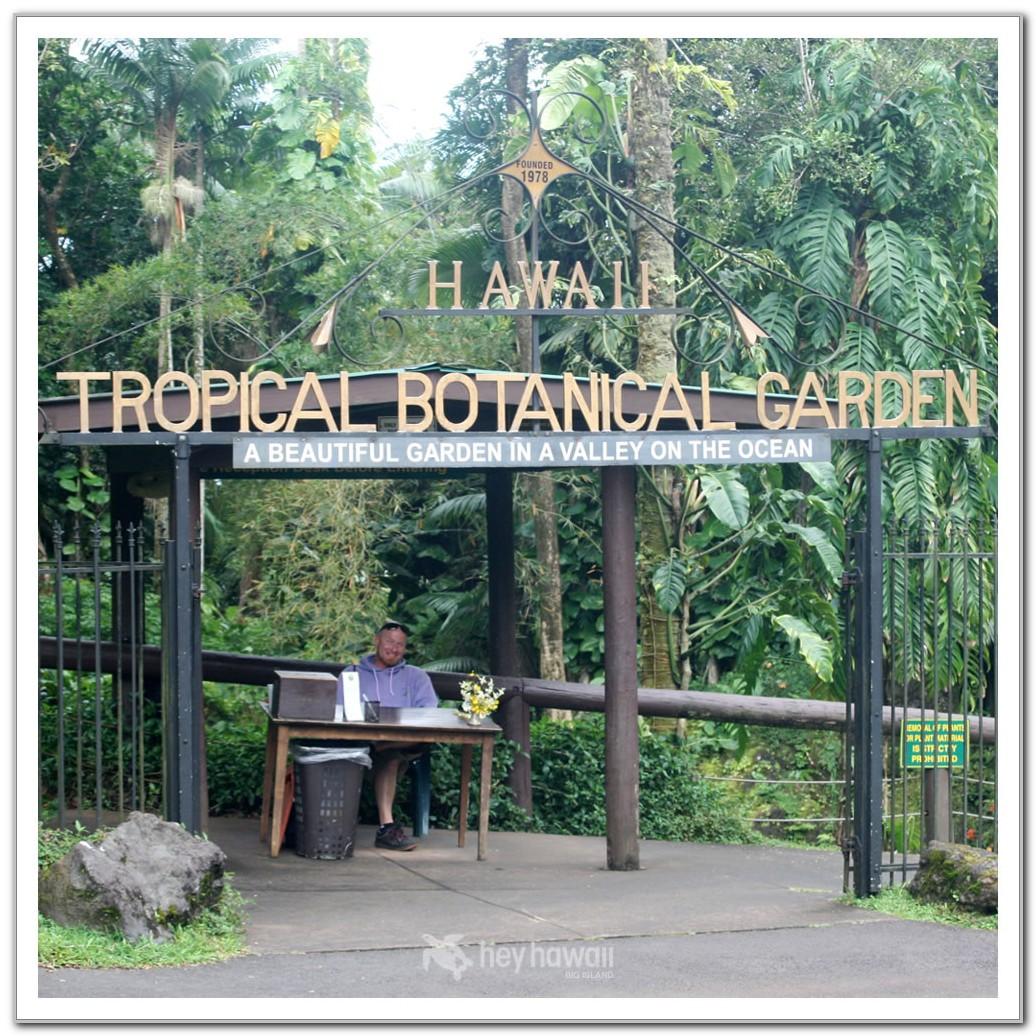 Hawaii Tropical Botanical Garden Map