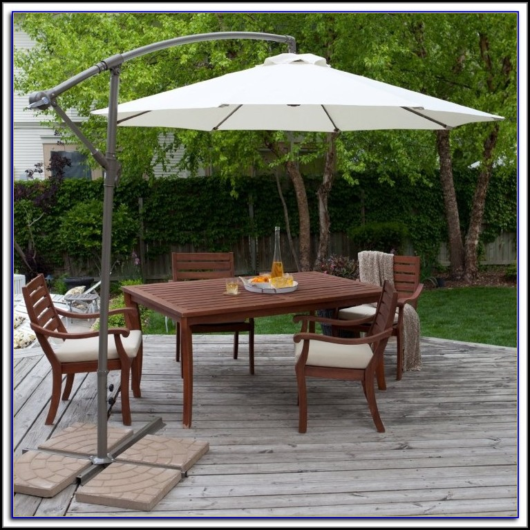 Heavy Duty Rectangular Patio Umbrella
