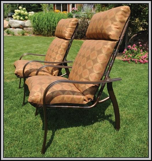 High Back Patio Chair Cushions Walmart
