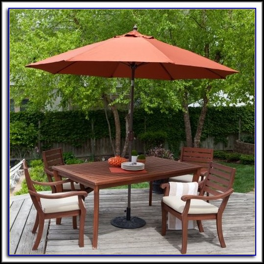 High Wind Resistant Patio Umbrella