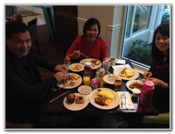 Hilton Garden Inn El Segundo Breakfast