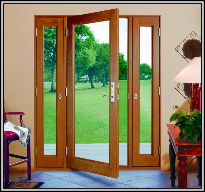 Hinged Patio Doors With Screens