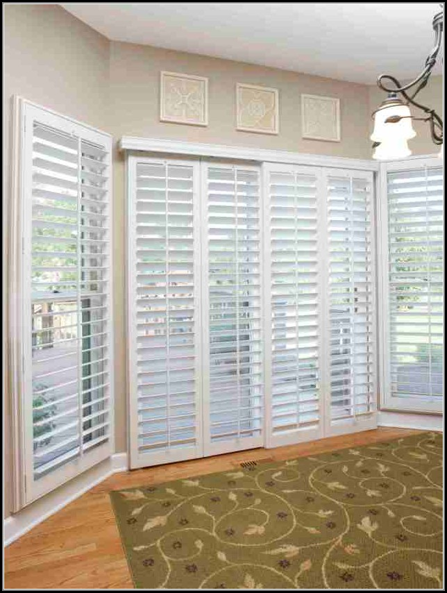 Home Depot Sliding Glass Doors With Blinds