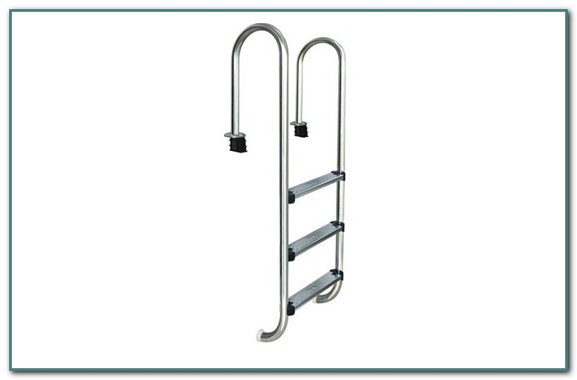 In Ground Swimming Pool Ladders