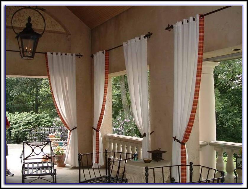 Indoor Patio Curtain Ideas
