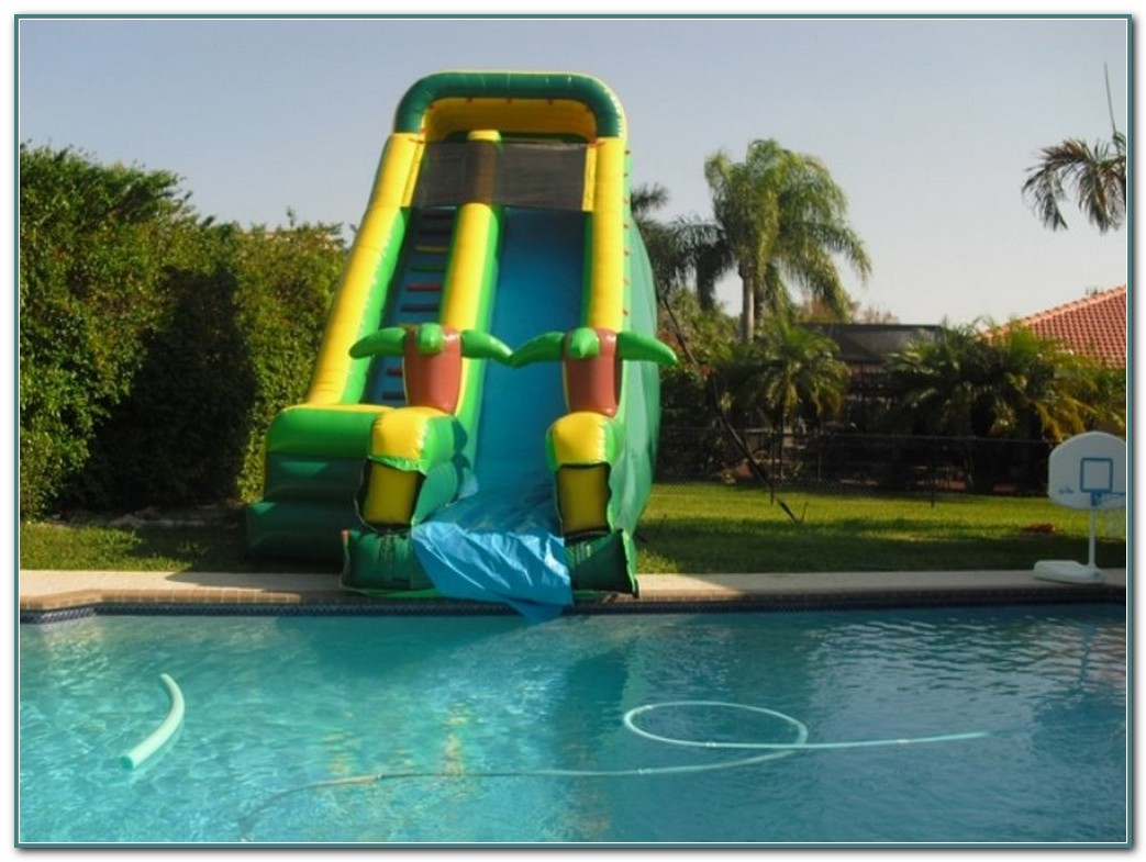 Inflatable Pool Slides For Inground Pools Australia
