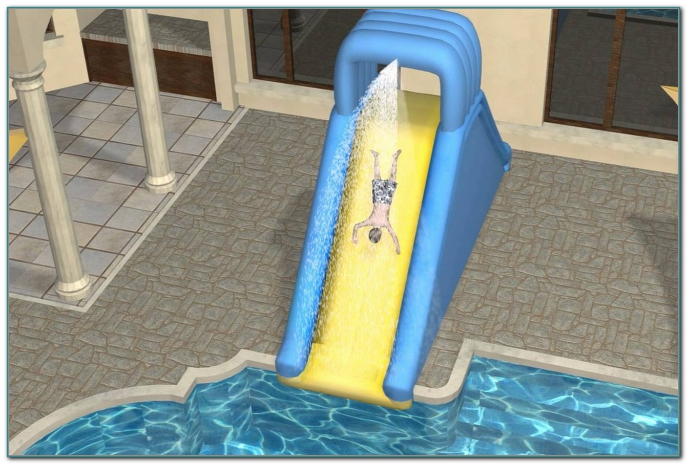 Inflatable Water Slides For Inground Pools