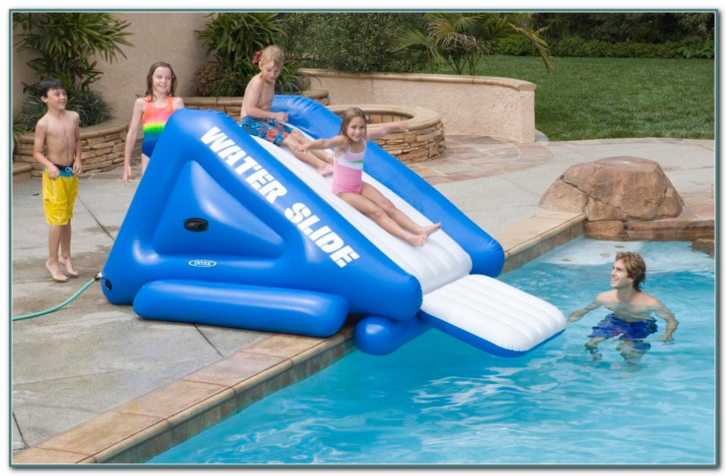 Inflatable Water Slides For Pools