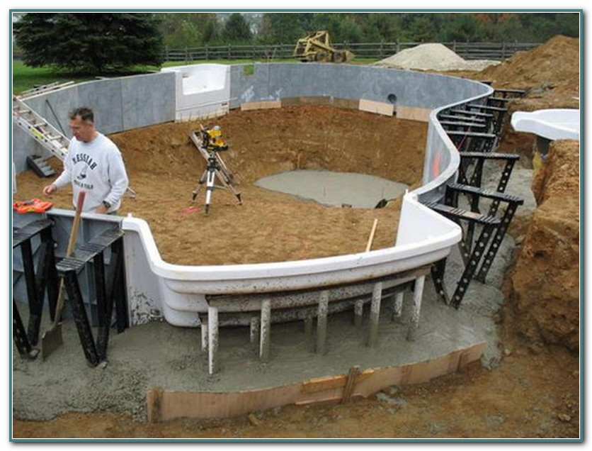 Inground Fiberglass Pool Kits