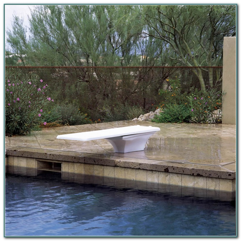 Inground Pool Diving Board