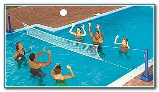 Inground Swimming Pool Volleyball Net