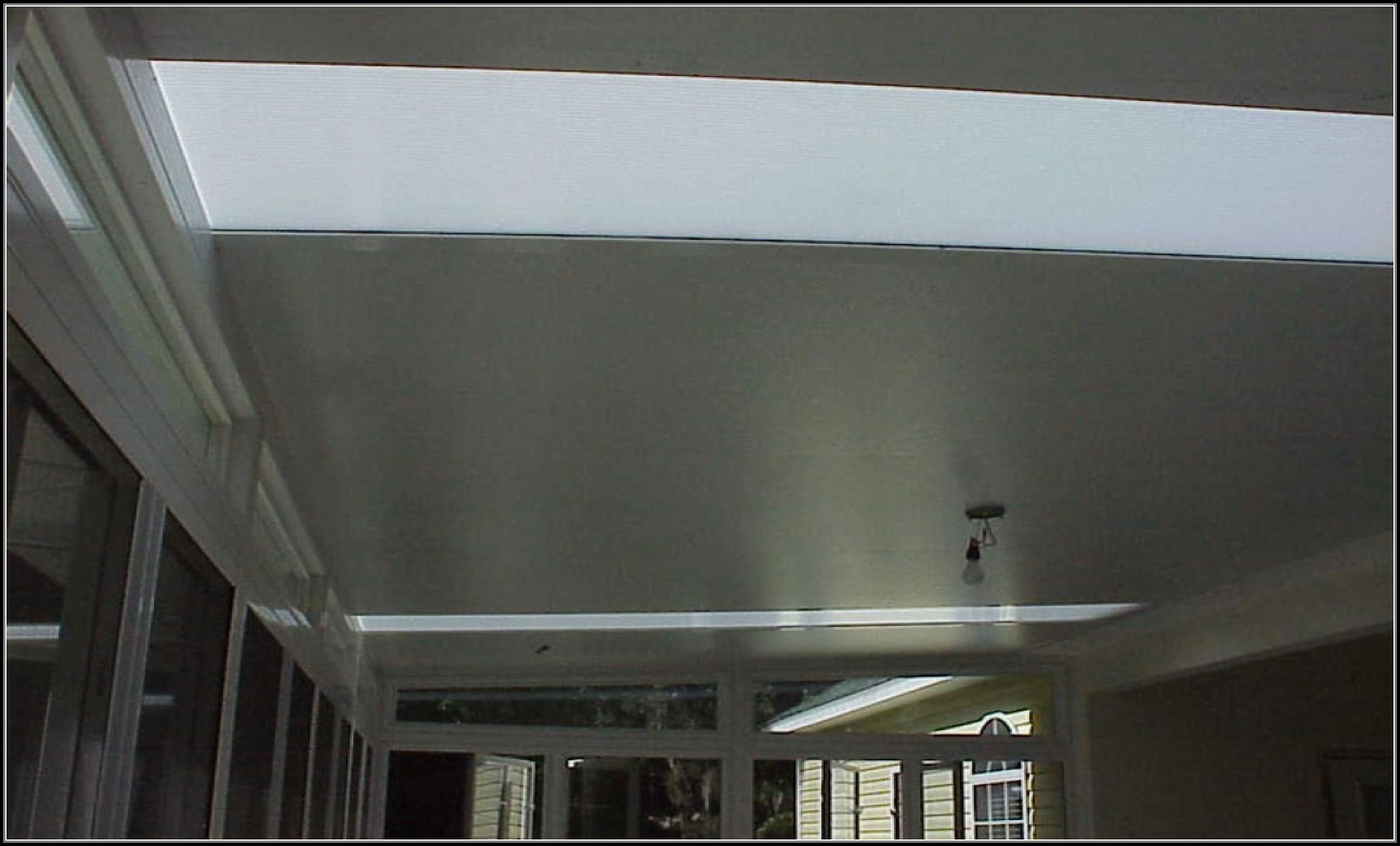Insulated Aluminum Patio Roof Panels
