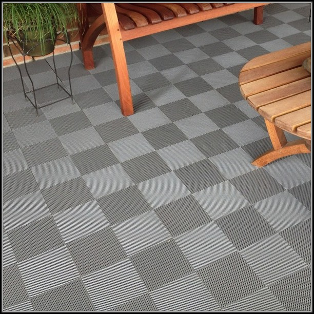 Interlocking Patio Deck Tiles