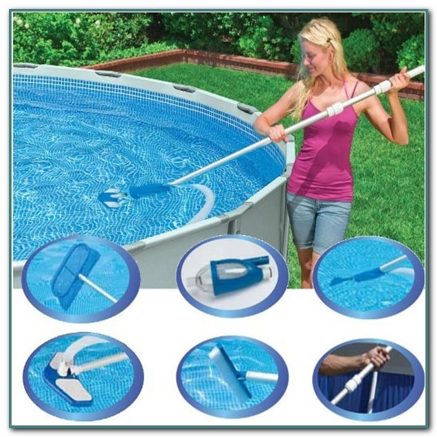 Intex Above Ground Pool Maintenance