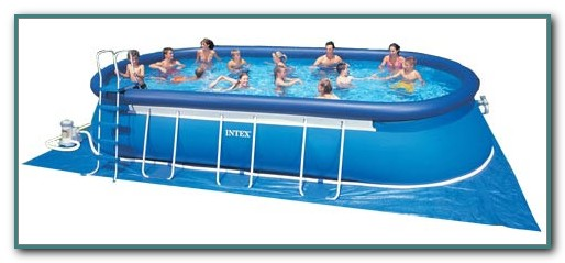 Intex Oval Above Ground Swimming Pool