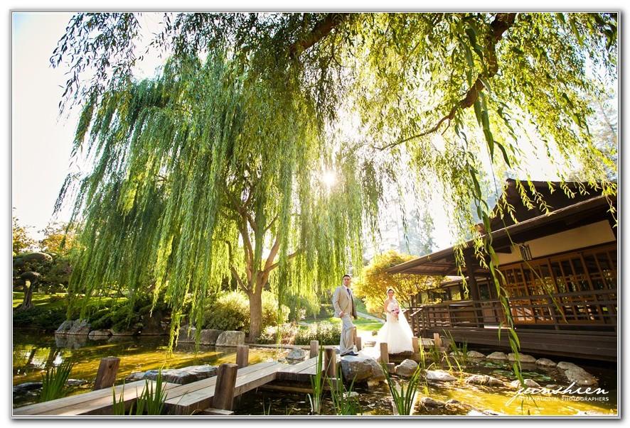 Japanese Friendship Garden San Jose Wedding