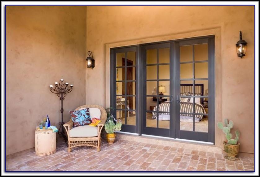 Jen Weld French Doors Blinds