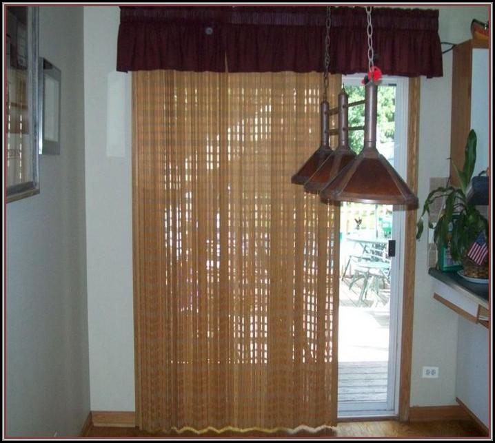 Kitchen Patio Curtain Ideas