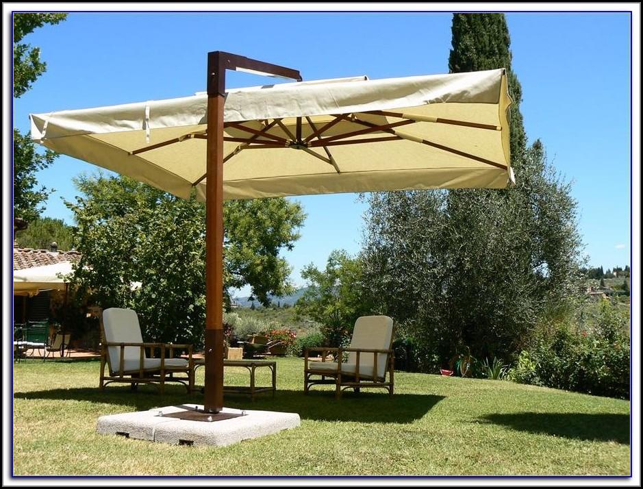Large Fim Cantilever Patio Umbrella