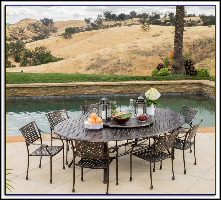 Large Lazy Susan For Patio Table