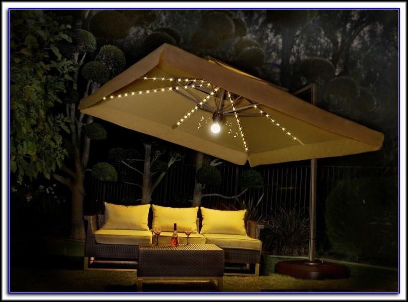 Large Square Offset Patio Umbrellas