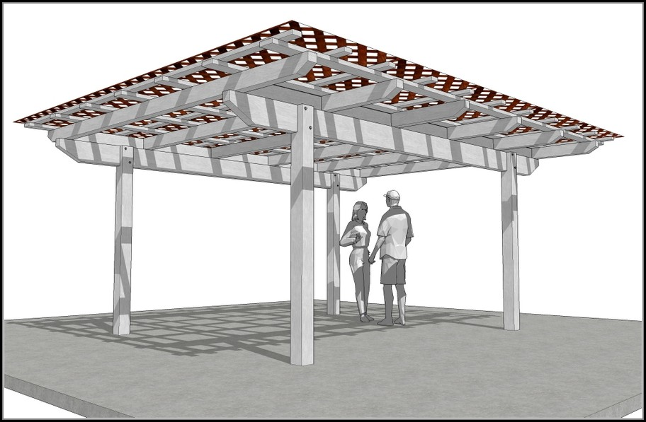 Lattice Patio Cover Plans
