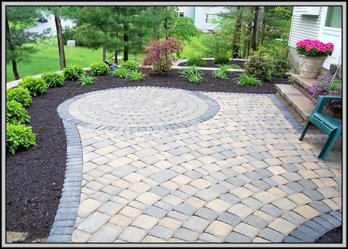Laying Patio Pavers On Dirt