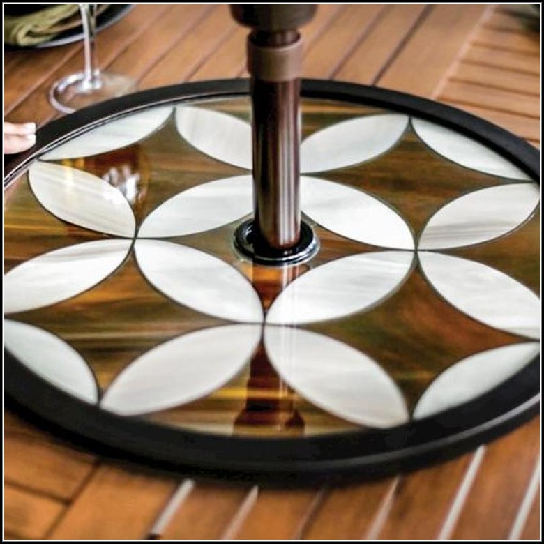 Lazy Susan Turntable For Patio Table