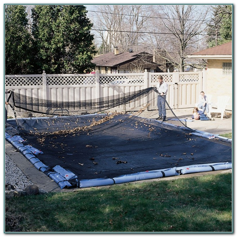 Leaf Net Winter Pool Cover