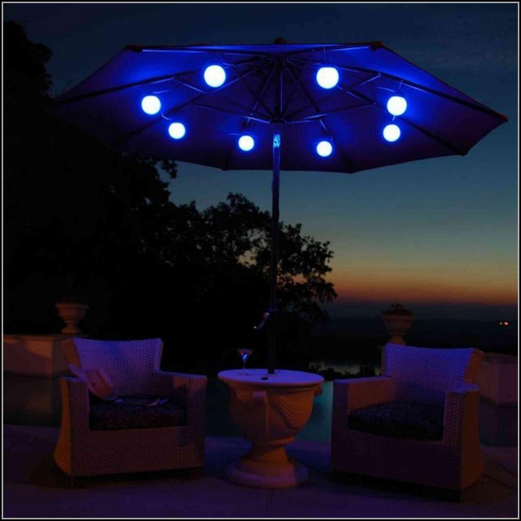 Led Lights For Patio Umbrella