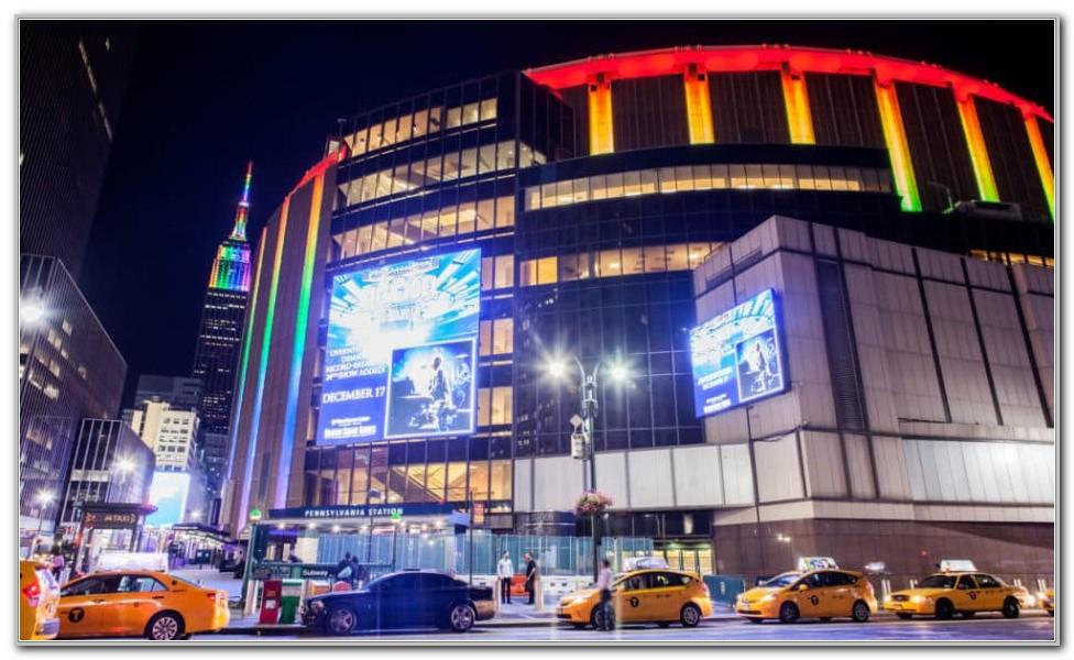 Madison Square Garden Schedule 2017