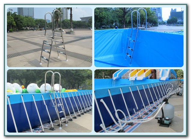 Metal Frame Swimming Pool 12x36