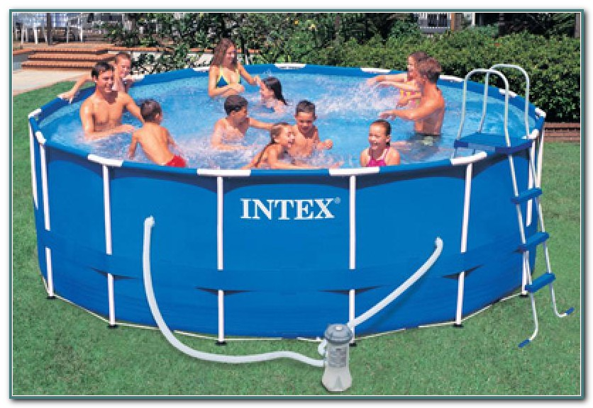 Metal Frame Swimming Pools By Intex