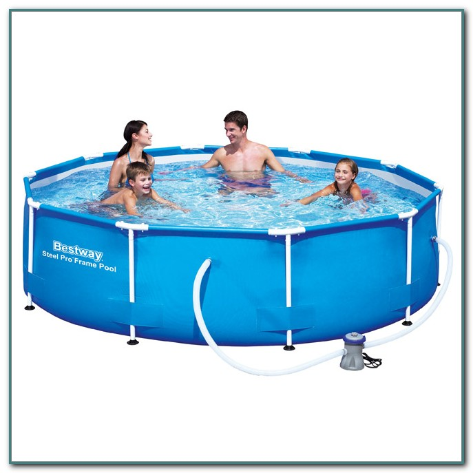 Metal Frame Swimming Pools Uk