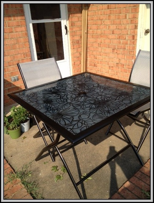 Metal Patio Table Top Replacement