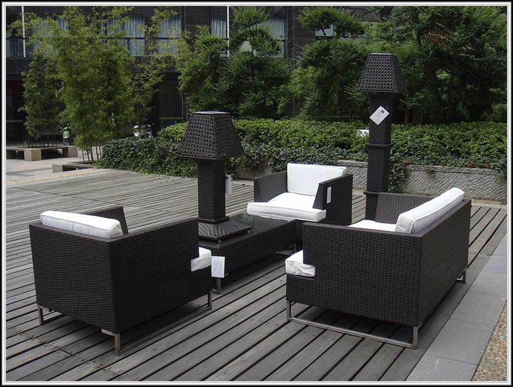 Modern Resin Wicker Patio Furniture
