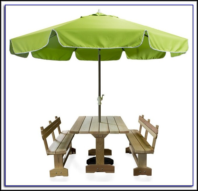 Neon Green Patio Umbrella