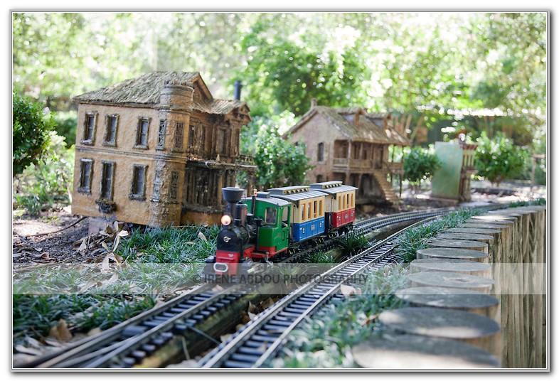 New Orleans Botanical Garden Train