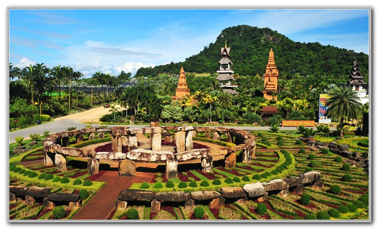 Nong Nooch Tropical Botanical Garden Pattaya