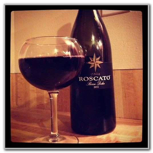 Olive Garden Roscato Wine