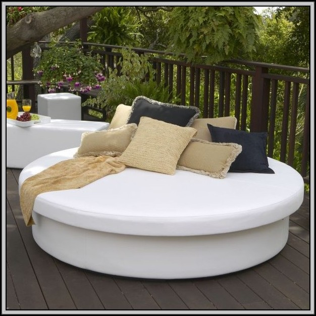 Outdoor Patio Lounge Daybed
