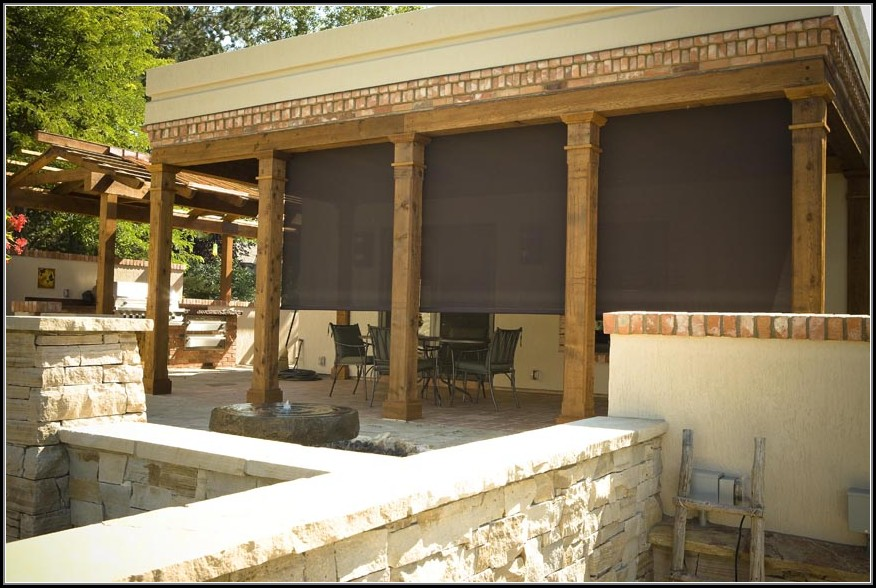 Outdoor Patio Shade Screens