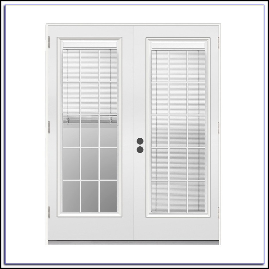 Outswing Patio Doors With Blinds