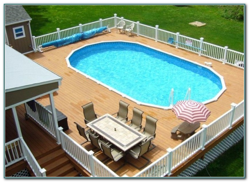Oval Above Ground Pools Walmart
